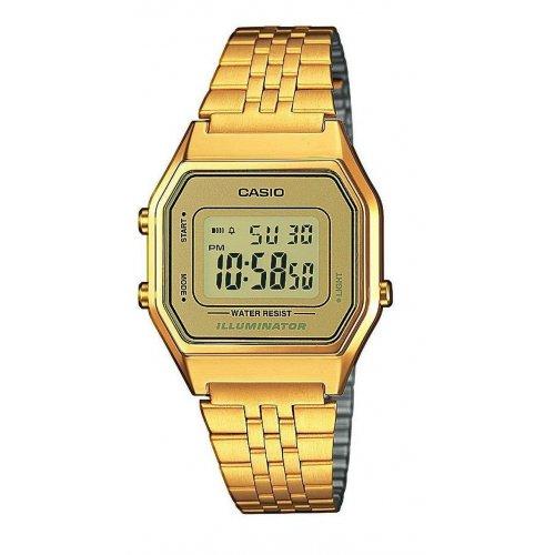Orologio CASIO da donna LA680WGA-9DF Vintage Acciaio PVD oro dorato
