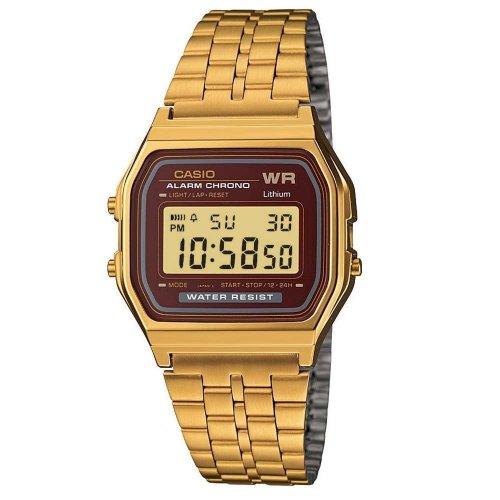 Orologio CASIO Unisex A159WGEA-5DF Acciaio PVD oro dorato Vintage