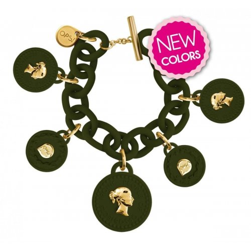 Bracciale da donna Ops Objects OPS!TRESOR OPSKBR5-12-2200 5 Monete Charms
