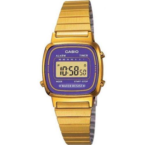 Orologio CASIO da donna LA670WGA-6DF Acciaio PVD oro dorato Vintage