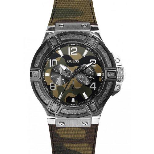 Orologio GUESS da uomo Collezione Rigor W0407G1 Camouflage