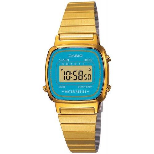 Orologio CASIO da donna LA670WGA-2DF Acciaio PVD oro dorato Vintage