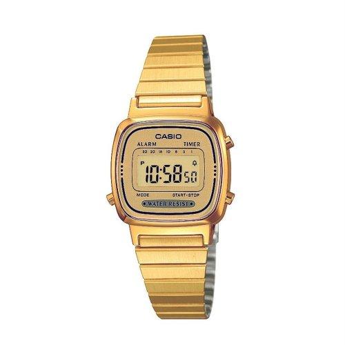 Orologio CASIO da donna LA670WGA-9DF Acciaio PVD oro dorato Vintage