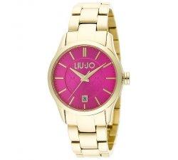 Orologio da donna Liu Jo Luxury Collezione Tess TLJ887 dorato fucsia