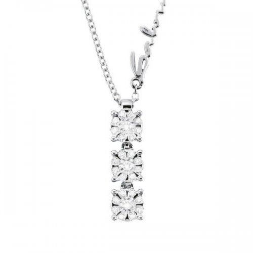 Collier Salvini in oro bianco e diamanti collezione Daphne Chic