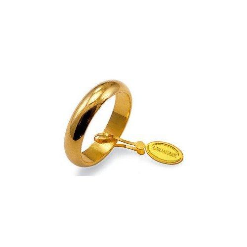 Fede Nuziale Unoaerre 7 Grammi Classica in Oro Giallo
