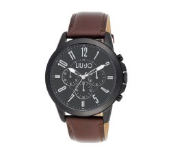 Orologio da uomo Liu Jo TLJ826 Cronografo collezione Jet Nero