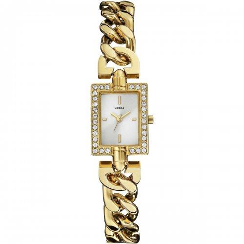 Orologio Guess da donna in acciaio dorato Glamour Chain W0540L2