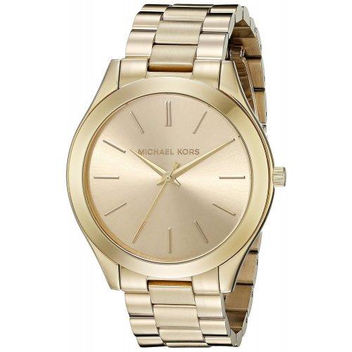 Orologio da donna MICHAEL KORS Collezione Slim Runway MK3179 dorato