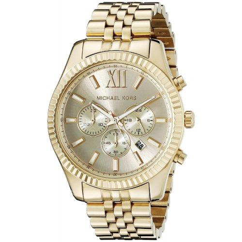 Orologio Michael Kors da uomo Collezione Lexington MK8281 dorato