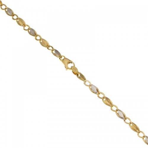 Bracciale Uomo in Oro Giallo e Bianco 803321718171