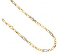 Collana Uomo in Oro Giallo e Bianco 803321714651