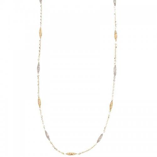 Collana Donna in Oro Bianco e Giallo 803321708921