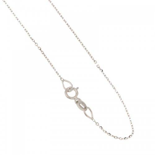 Collana Donna in Oro Bianco 803321730212