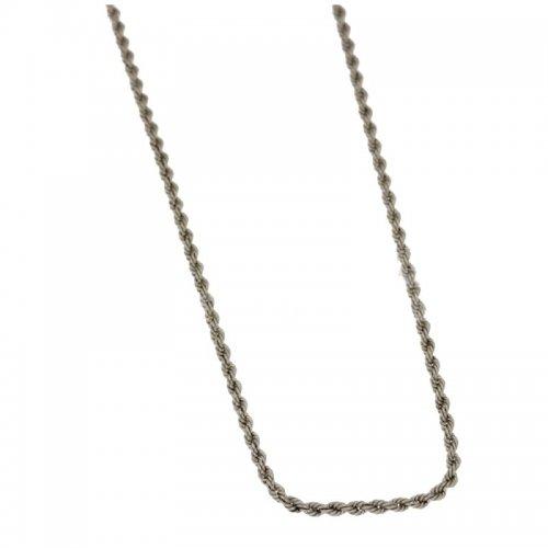 Collana Donna in Oro Bianco 803321705675