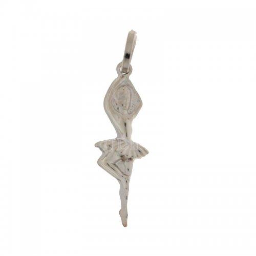 Ciondolo ballerina oro bianco 803321700430