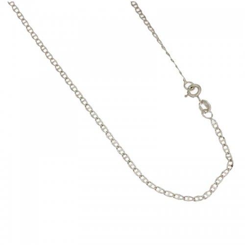Collana Unisex in Oro Bianco 803321720881