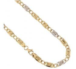Collana Uomo in Oro Giallo e Bianco 803321712308
