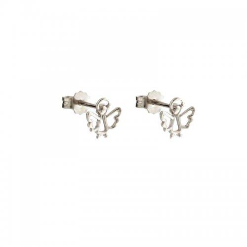 Orecchini Donna in Oro Bianco Angelo 803321730757