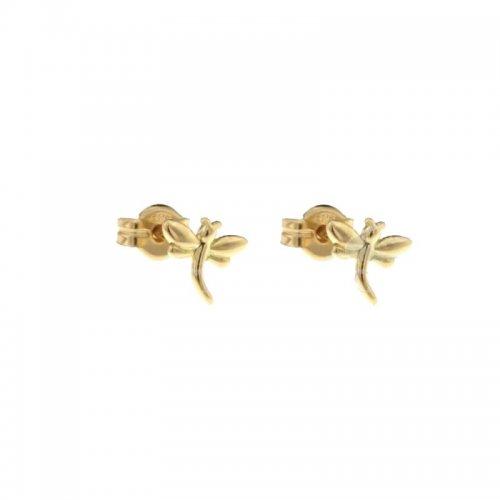Orecchini Libellula Donna in Oro Giallo 803321728714