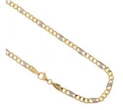 Collana Uomo in Oro Giallo e Bianco 803321700279