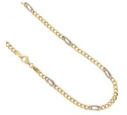 Collana Uomo in Oro Giallo e Bianco 803321717661