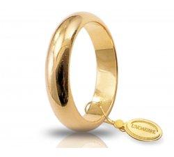 Fede Nuziale Unoaerre 8 Grammi Classica Oro Giallo