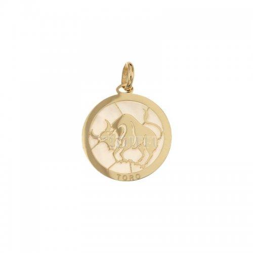 Ciondolo Segno Zodiacale Toro in Oro Giallo 803321733002