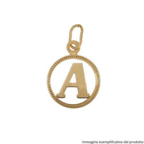 Ciondolo Lettera Iniziale Nome Oro Giallo 803321716095