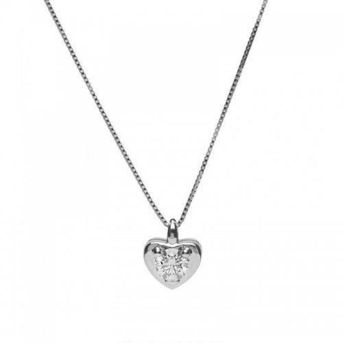 più recente 2978a 32c57 Collana Promesse Gioielli Donna Punto Luce Diamante CCUT ...