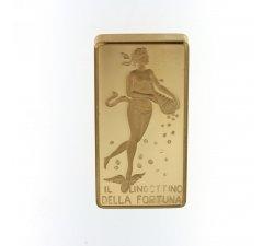 Lingotto della fortuna Unoaerre 20 grammi oro 750 18kt